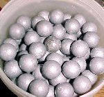 148 lead Mountain Howitzer Canister balls
