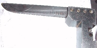 Corhorn Mortar custom boring Bar with 2.25 in. radius end