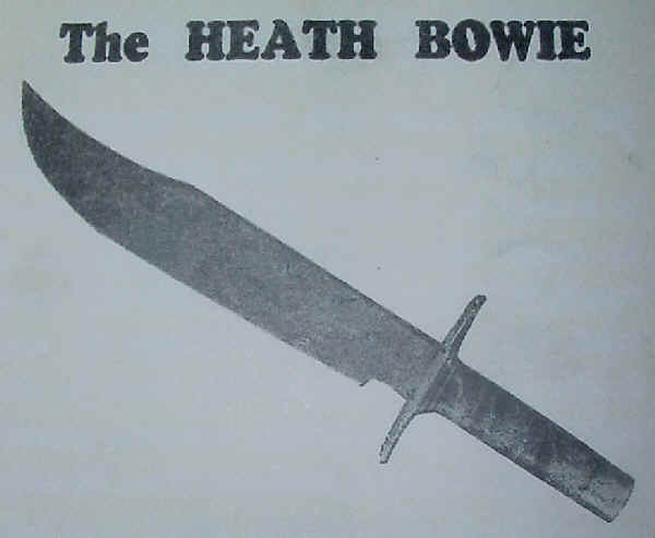 Heath Bowie knife