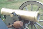 Mountain Howitzer Barrel on Carriage