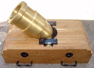 Fibished 12 Pound Coehorn Mortar Bed left side