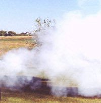 12 pound Coehorn Mortar smoke