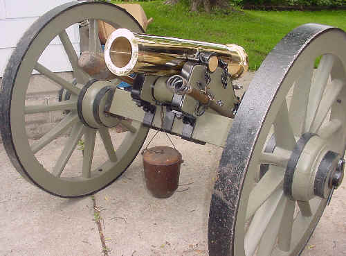 Steen Cannons Mountain Howitzer Barrel